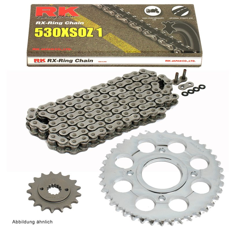 D.I.D VX Chain And Sprocket Kit Set Tool Triumph 955i Tiger 05-06
