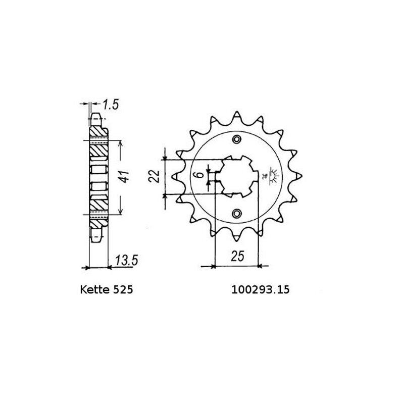 chain and sprocket set honda xl 600 v 87