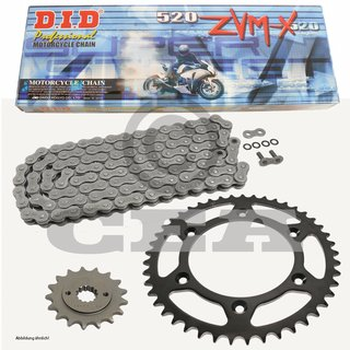 Chain And Sprocket Set KTM EXC 250 1999 DID 520 ZVM X 118 Open