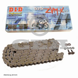 Chain and Sprocket Set Suzuki SV 650 16-17 chain DID 525 ZVM-X 112 open 15/46