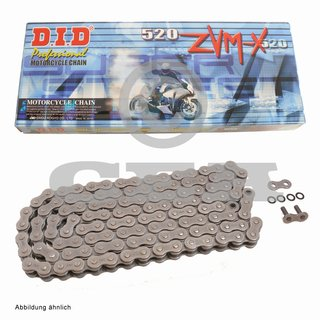 Chain and Sprocket Set Suzuki SFV 650 Gladius 09-15  chain DID 520 ZVM-X 112  open  15/46