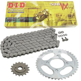 Chain and Sprocket Set Yamaha XS 650 75-83  chain DID 530 VX 104  open  17/33