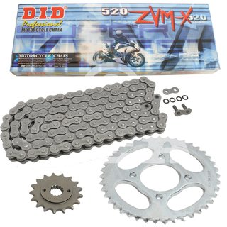 Chain And Sprocket Set Husaberg FE 350 93 99 DID 520 ZVM X