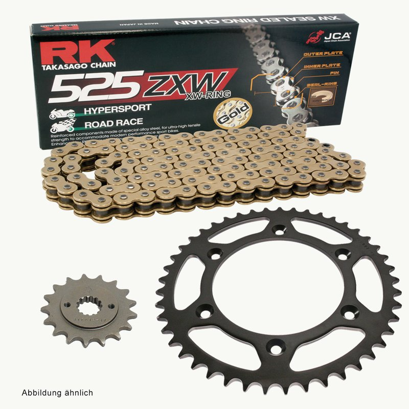 Rk X-Ring Chain Blue 520 Xso/116 Open Chain With Rivet