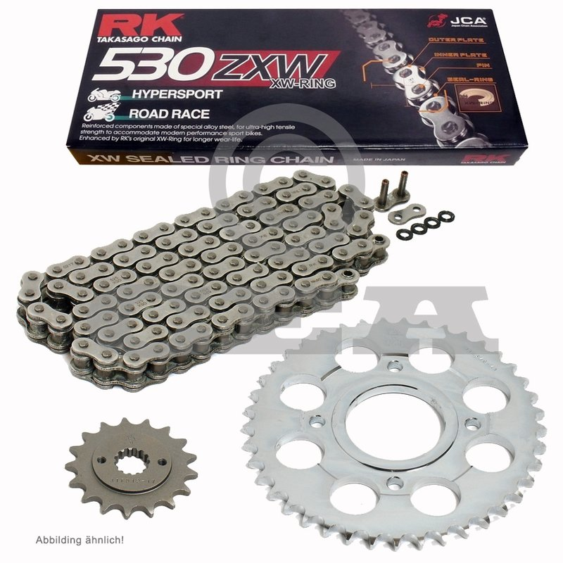 KTM Supermoto 990 SM R DID Kettensatz chain kit VX 525 G/&B gold 2012-2014