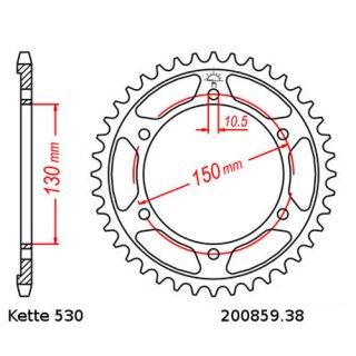 Gold RK GB530ZXW-130 530 ZXW XW-Ring Chain 130 Links