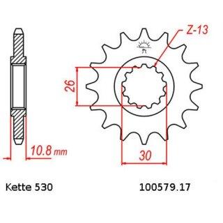 Yamaha MT01 1700 N//S 05-12 DID 530 Pitch 114 Link Chain