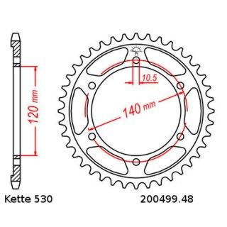 Kettensatz Kawasaki ZZR 600 93 06 Kette RK BB 530 GXW 112 BLAU Offen 16 48