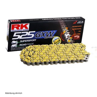 Chain and Sprocket Set Triumph America 865 EFI 07-12  Chain RK YY525GXW 112  open  YELLOW  17/42
