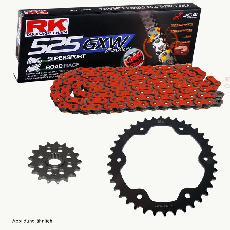 630 Pitch Gold O-Ring Chain 112 Links Custom Motorcycle Heavy Duty