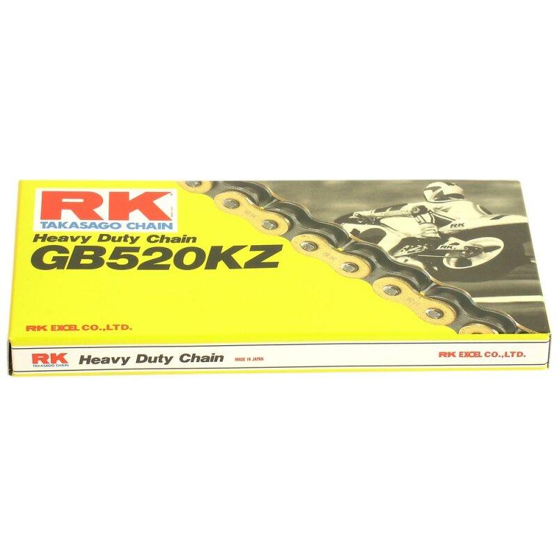 offen Motorrad Kette RK 420 mit 140 Rollen und Clipschloss