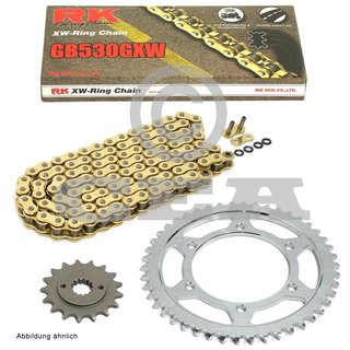 Kawasaki ZRX1200 A B ZRX1200 R S 2004 DID Gold X-Ring Chain and Sprocket Kit