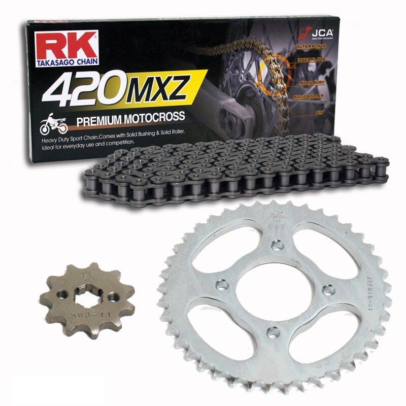 offen MotoCross Racing Kette RK 420MXZ mit 130 Rollen und Clipschloss