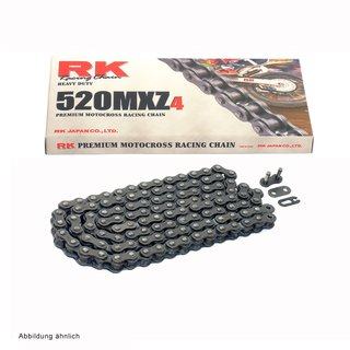 Chain and Sprocket Set KTM EXC 400 Racing 00-11  Chain RK 520 MXZ4 118  open  15/45